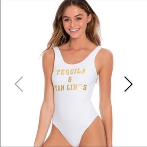 Other - Cabana Del Sol Tequila & Tanlines One piece